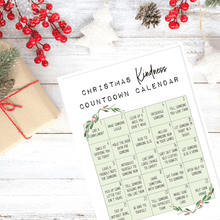 Load image into Gallery viewer, Christmas Countdown Kindness Advent Calendar