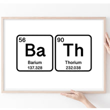 Load image into Gallery viewer, Science Gifts, Periodic Table Print, Inspire Quote