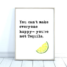 Load image into Gallery viewer, Tequila Quote Print