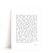 Load image into Gallery viewer, Custom Quote Print, Custom Text Print