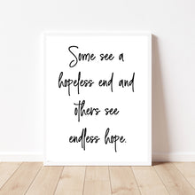 Load image into Gallery viewer, Hope Quote, Inspirational Quote Print