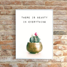 Load image into Gallery viewer, Cactus Wall Art, Cactus Quote Print