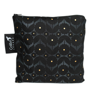 Large Snack Bag | Midnight Flower