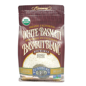 Organic California White Basmati Rice