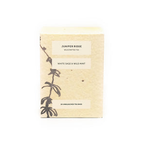 White Sage & Wild Mint Tea - 20 bags