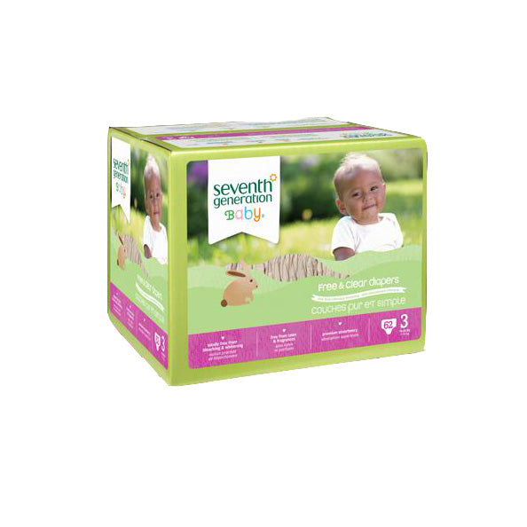 Disposable Diapers, Size 3 (16-28 pounds)