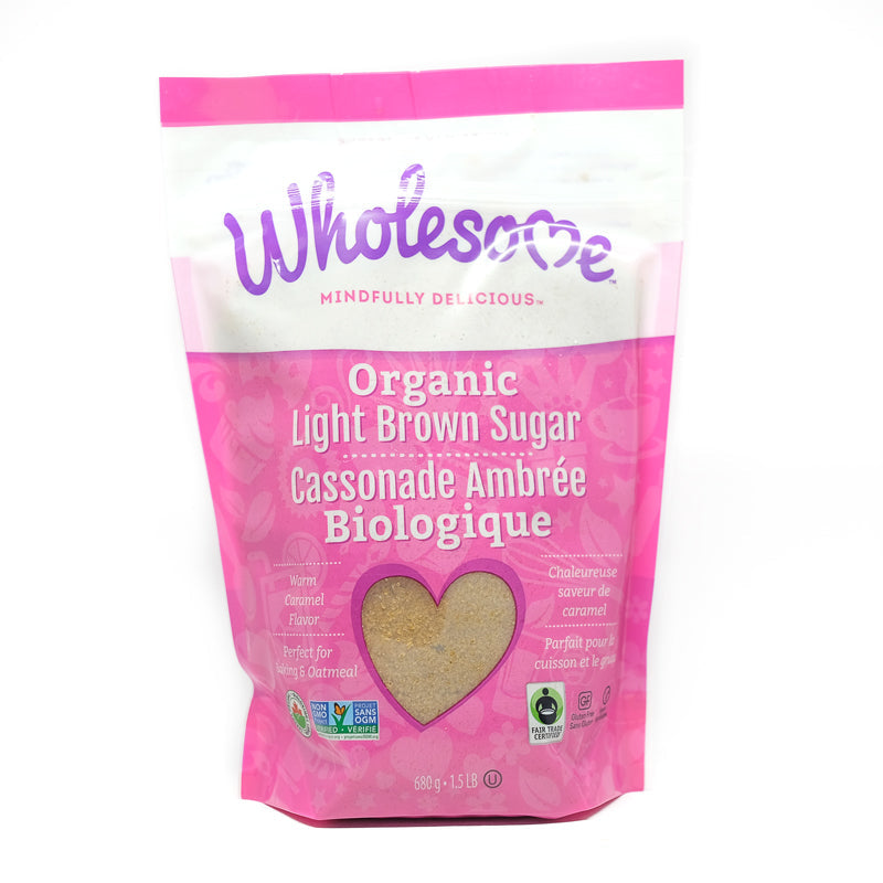 Fairtrade Organic Light Brown Sugar