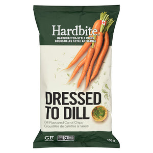 Dressed to Dill Carrot Chips - 150g
