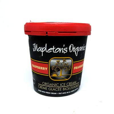 Mapleton's Raspberry Ice Cream