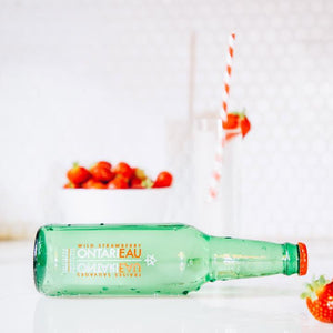 Wild Strawberry Unsweetened Natural Flavoured Sparkling Water - 355ml