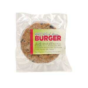 BBQ Black Bean Burger - 2 pack