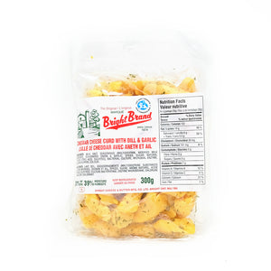 Dill & Garlic Cheese Curds