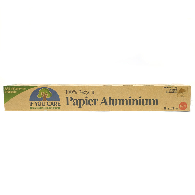 100% Recycled Aluminum Foil 50 SqFt