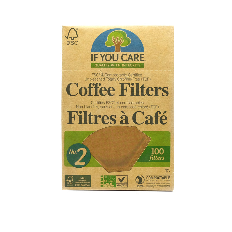 FSC Certified No. 2 Coffee Filters