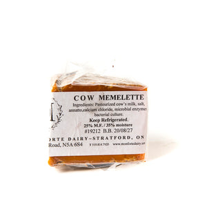 Cow Memolette - Cow's milk aged with annatto - Approx 200g