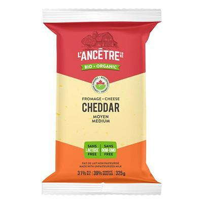 Organic Medium Cheddar