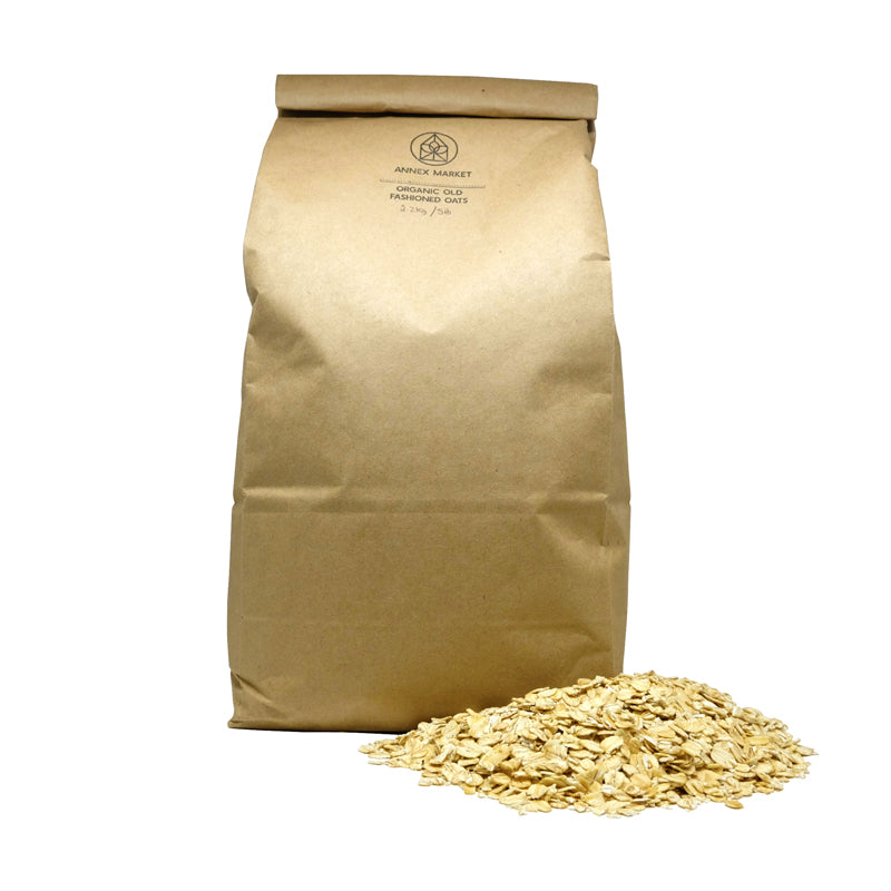 Organic Old Fashioned Oats - 2.2kg / 5lb