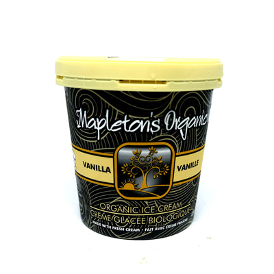 Mapleton's Vanilla Ice Cream