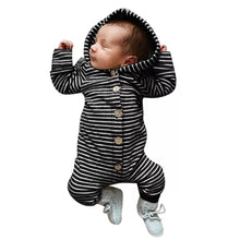 Load image into Gallery viewer, Stripe Love Jumpsuit - Little Boo Store