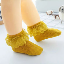 Load image into Gallery viewer, Lace Trim Socks - Little Boo Store