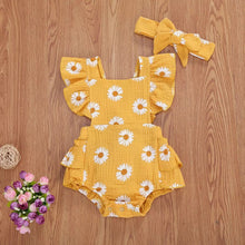 Load image into Gallery viewer, Daisy Ruffle Romper