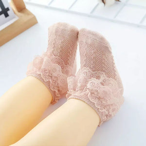 Lace Trim Socks - Little Boo Store