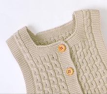 Load image into Gallery viewer, Knitted Jumpsuit - Beige