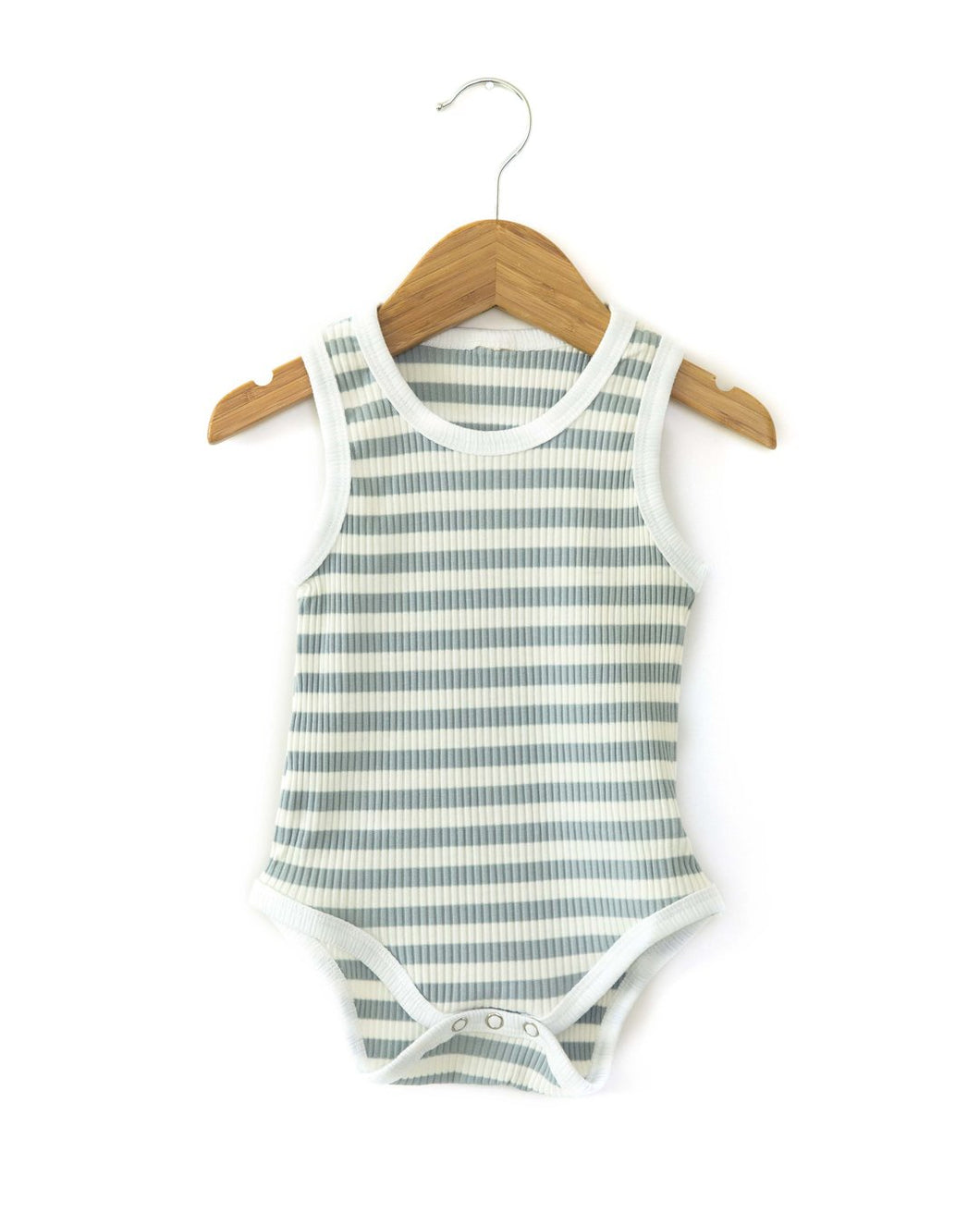 Stripe Bodysuit - Blue