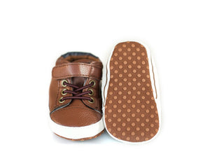 Dude Shoes in Leather Caramel - Little Boo Store