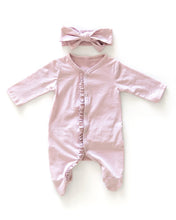 Load image into Gallery viewer, Ruffle Suit - Dusty Pink - Little Boo Store