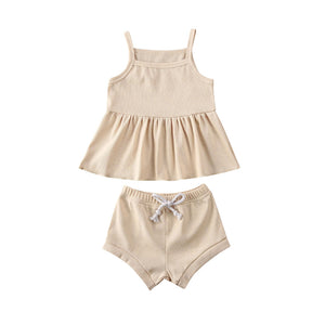 Allie Ribbed Set - Little Boo Store