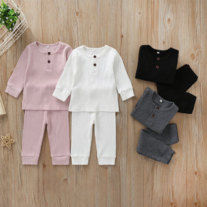 Basic Ribbed Set - Little Boo Store