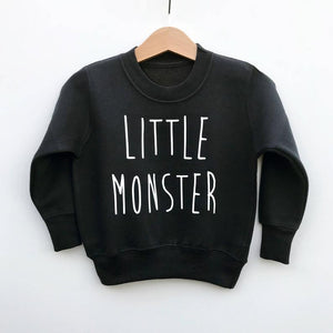 'Little Monster' Pullover