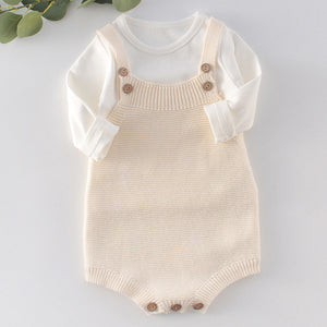 Elsie Knit Romper - Little Boo Store
