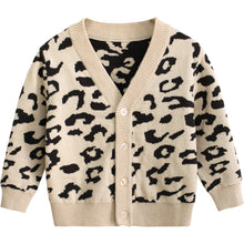Load image into Gallery viewer, Leopard Cardi - Little Boo Store
