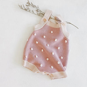 Joanna Knit Romper - Little Boo Store