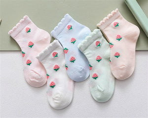 Strawberry Sock Set - Little Boo Store