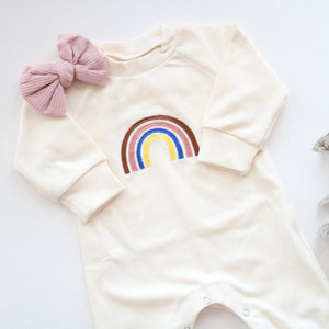 Rainbow Love Romper