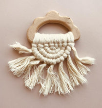 Load image into Gallery viewer, Cloud Tassel Teether - Ivory