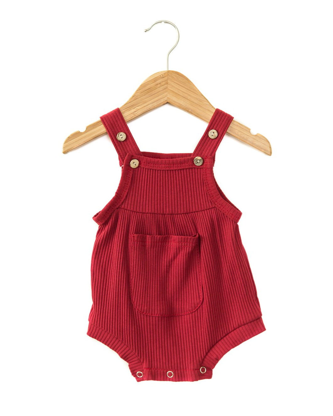Pixie Romper in Red