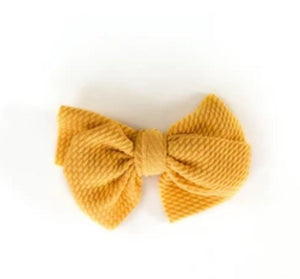 Textured Bow - Little Boo Store