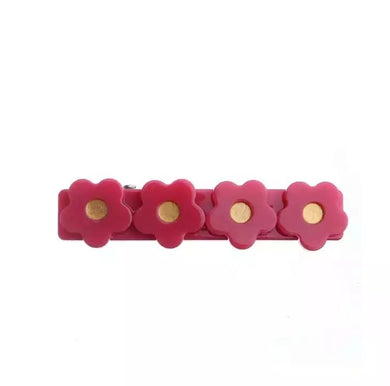 Flower Clip // Raspberry
