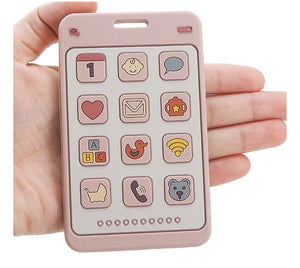 Smart Phone Silicone Teether
