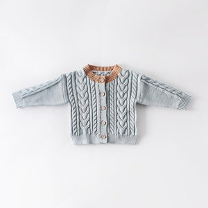 Cable Knit Cardigan - Little Boo Store