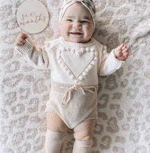 Load image into Gallery viewer, Pure Love Knit Romper