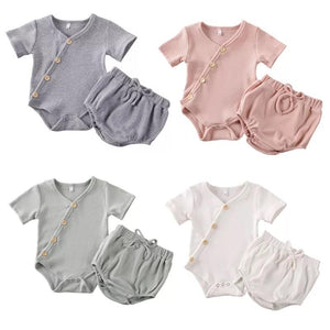 Ribbed Basic Button Set - Little Boo Store