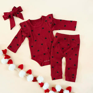 """Hearts"" 3 piece Set"