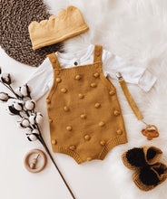 Load image into Gallery viewer, Popcorn Knit Romper