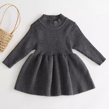 Load image into Gallery viewer, Ribbed Knit Dress - Little Boo Store