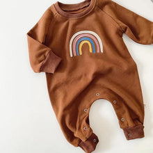 Load image into Gallery viewer, Rainbow Love Romper
